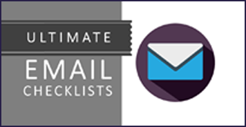 Ultimate Email Checklist